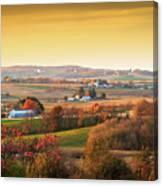 Many Farms Canvas Print