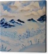 Many Valleys Canvas Print