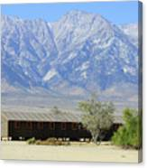 Manzanar A Blight On America 1 Canvas Print