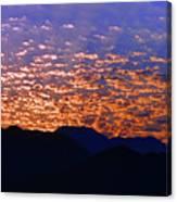 Manzanillo Sunset 3 Canvas Print