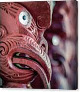Maori Carving Canvas Print