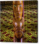 Maori Greeter Canvas Print