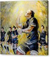 Maori Haka Again And Again Canvas Print