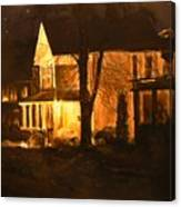 Maple Avenue Nocturne Canvas Print