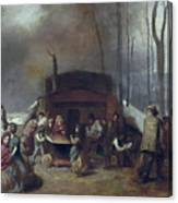 Maple Syrup, C1865 Canvas Print