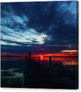 Maplehurst Dock Canvas Print