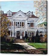Mapleton Hill Homestead Canvas Print