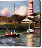 Mara Sails Hope Town Canvas Print
