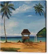 Maracas Bay 2 Canvas Print
