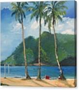Maracas Bay 3 Canvas Print
