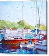 Maragot Harbor Canvas Print