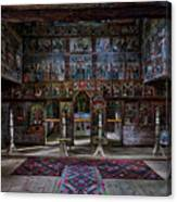 Maramures Romania Church Interior Canvas Print