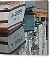 Marauder Reflection Canvas Print