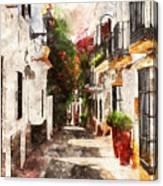 Marbella, Andalusia - 01 Canvas Print