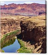 Marble Canyon Canvas Print