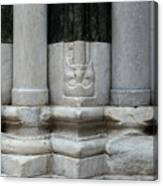 Marble Columns Canvas Print