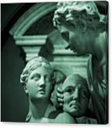 Marble Statue Catus 1 No. 2 H B Canvas Print