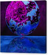 Marble World Canvas Print