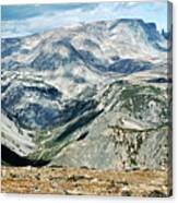 Marbled Mountains Canvas Print