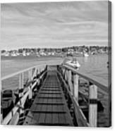 Marblehead Massachusetts Dock Canvas Print
