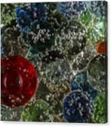 Marbles Clear Soda 2 Canvas Print