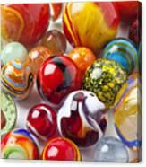 Marbles Close Up Canvas Print