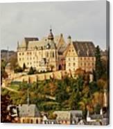 Marburg Castle Germany H B Canvas Print