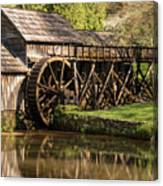 Marby Water Mill  Canvas Print