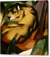 Marc: The Tiger, 1912 Canvas Print