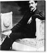 Marcel Proust, French Author Canvas Print