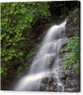 March Cataract Falls Mount Greylock Canvas Print