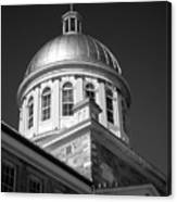 Marche Bonsecours  Canvas Print