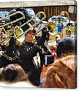 Marching Band Brass Canvas Print