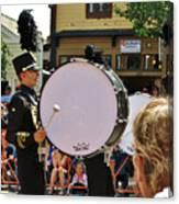 Marching Band Percussion  Canvas Print