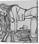 Marco Girl Canvas Print