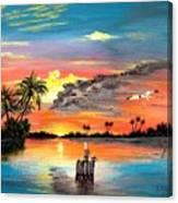 Marco Island Study Canvas Print