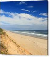Marconi Beach Cape Cod National Seashore Canvas Print
