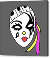 Mardi Gras Mask Canvas Print