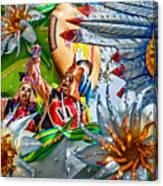 Mardi Gras - New Orleans 3 Canvas Print