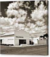 Marfa Ballroom In Sepia Canvas Print