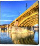 Margaret Bridge Budapest Canvas Print
