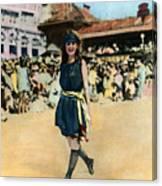 Margaret Gorman, 1921 Canvas Print