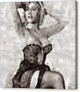 Margaret Nolan, Carry On Actress Canvas Print