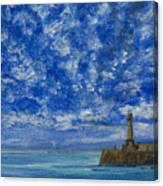 Margate Sea And Sky Canvas Print