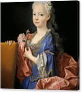 Maria Anna Victoria Of Bourbon. The Future Queen Of Portugal Canvas Print