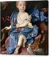 Maria Antonia Fernanda De Borbon. Infanta Of Spain. Future Queen Of Sardinia Canvas Print
