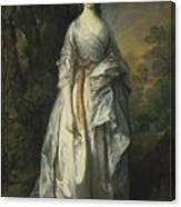 Maria Lady Eardley, 1766 Canvas Print