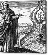 Maria The Jewess, First True Alchemist Canvas Print
