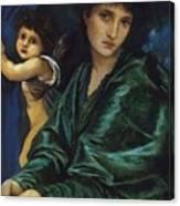 Maria Zambaco 1870 Canvas Print