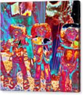 Mariachi Abstract Canvas Print